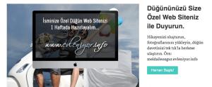 İsminize Özel Düğün Web Siteniz